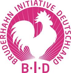 Bruderhahn Initiative Deutschland - Logo
